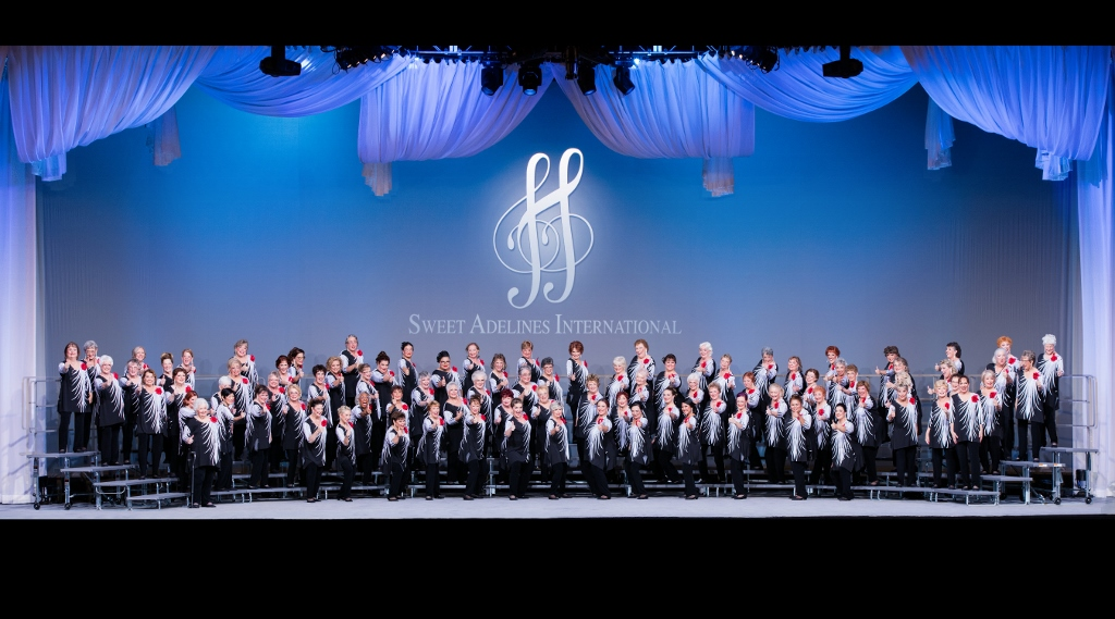 Sacramento Valley Chorus Place 14th at Sweet Adelines International Contest