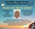 Wake Up with Dede - vocal conditioning and warm up session